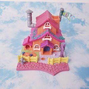 Polly Pocket Vintage Dog House With Figures